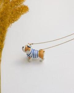 3D perro rayas II